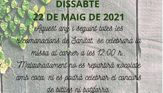 APLEC DE CÉRVOLES A IVARS DE NOGUERA, DISSABTE 22 DE MAIG