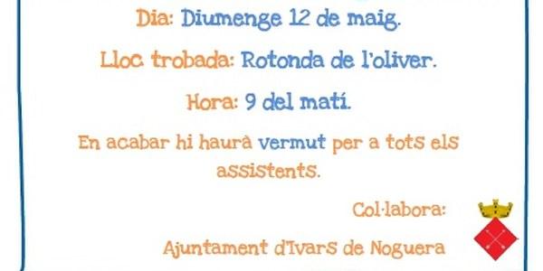 CAMINADA (5 KM) I NETEJA DEL RIU D'IVARS DE NOGUERA