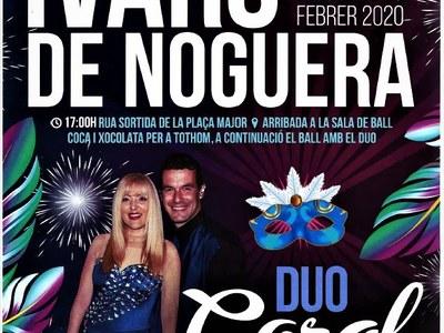 CARNESTOLTES IVARS DE NOGUERA EL DISSABTE 29/02/2020