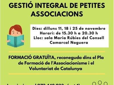 CURS GESTIÓ INTEGRAL DE PETITES ASSOCIACIONS