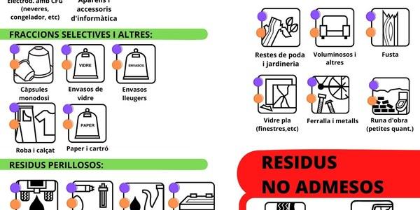 DEIXALLERIES I RESIDUS ADMESOS! (BALAGUER I ARTESA DE SEGRE)