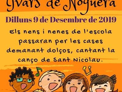 EL DILLUNS DIA 9 DESEMBRE, SANT NICOLAU