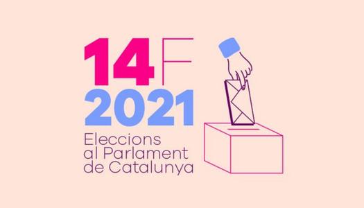 ELECCIONS AL PARLAMENT DE CATALUNYA diumenge dia 14 febrer de 2021