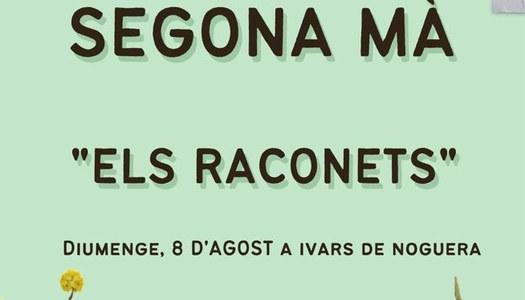 ES MODIFICA LA DATA DEL MERCAT DEL RACONETS (08/08/2021) A IVARS DE NOGUERA