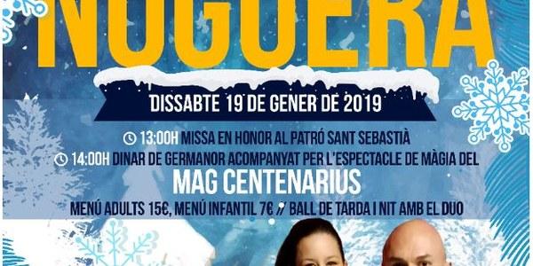 FESTA MAJOR D'HIVERN, DISSABTE 19 DE GENER DE 2019 IVARS DE NOGUERA