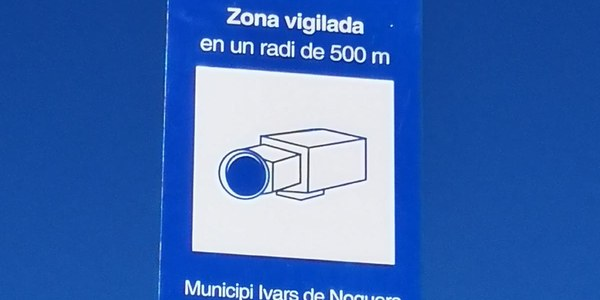 LEGALITZACIÓ DE LES CÀMARES DE VIDEOVIGILÀNCIA