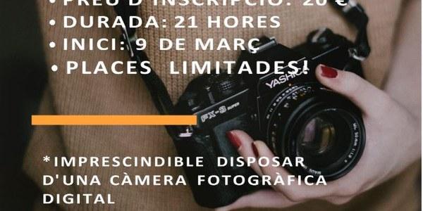 L'OFICINA JOVE DE LA NOGUERA, INFORMA SOBRE UN CURS DE FOTOGRAFIA DIGITAL.