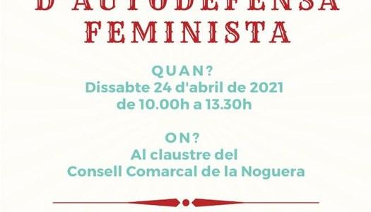 L'OFICINA JOVE DE LA NOGUERA, ORGANITZA UN TALLER D'AUTODEFENSA FEMINISTA.