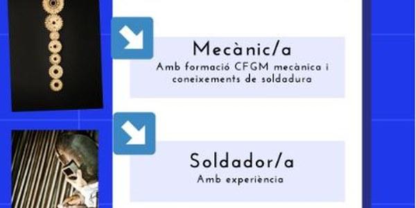 OFERTA DE TREBALL: