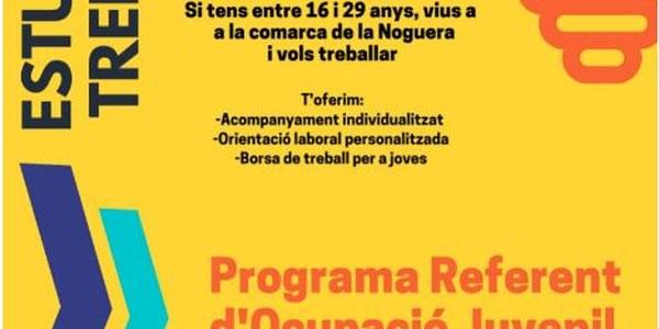 PROGRAMA REFERENT D'OCUPACIÓ JUVENIL