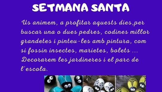 PROPOSTA PER LES VACANCES DE SETMANA SANTA, A IVARS DE NOGUERA.