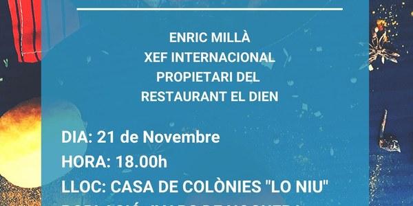 TALLER DE CUINA DE NADAL 21/11/2019 A LES 18.00 H A IVARS DE NOGUERA
