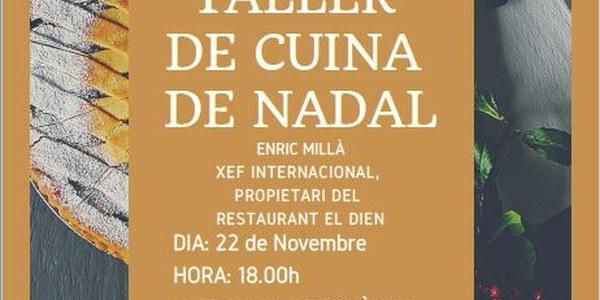TALLER DE CUINA DE NADAL EL 22/11/2018 A IVARS DE NOGUERA