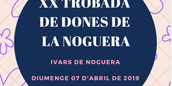 TROBADA DE DONES DE LA NOGUERA PROGRAMA I MENÚ