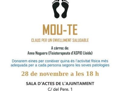 US CONVIDEM A LA CONFERÈNCIA (MOU-TE) 28/11/19