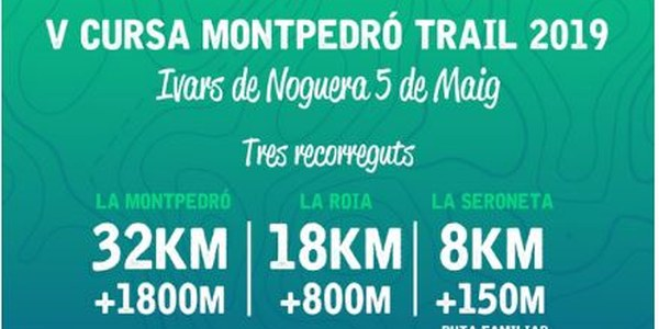 V CURSA MONTPEDRÓ TRAIL 5 DE MAIG A IVARS DE NOGUERA