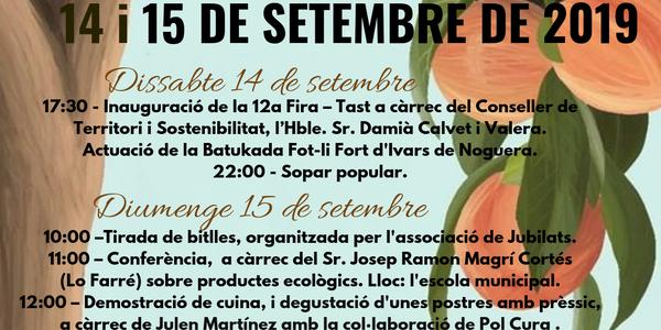 XII FIRA TAST DEL PRÈSSIC D'IVARS DE NOGUERA